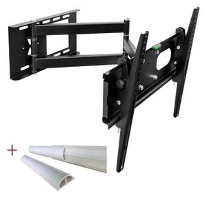 FIXATION - SUPPORT TV Universal TV support mural orientable pour LCD LED