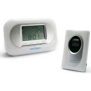 Thermometre avec sonde exterieure achat vente pas cher for Thermometre sans fil interieur exterieur