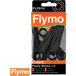 LAME DE DECOUPE Lames plastiques FLY013 pour tondeuses Flymo