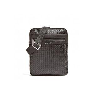 3be06618d7 Sacoche besace sac bandouliere noir pour homme - Achat / Vente pas cher