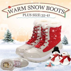 APRES SKI - SNOWBOOT Fourrure d'hiver Femmes Mode Chaussures Bottes de