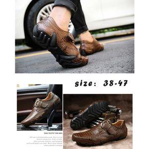 2017 Nouveau design Chaussures d'affaires pour hommes Driving Mocassins de haute qualité Mode chaussures confortables en cuir p8NhjU