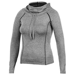 T-SHIRT DE COMPRESSION Sweat-shirt à capuche de yoga pour femme Sweat-shi