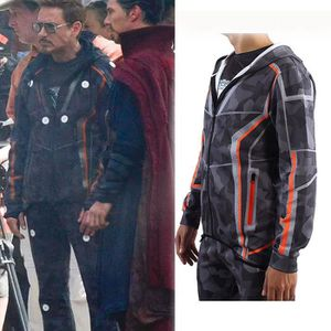T-SHIRT Avengers:Infinity War Iron Man Downey sport Veste