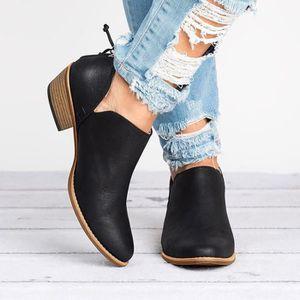 BOTTE Deuxsuns®Femmes dames chaussures d'automne mode ch