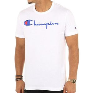 T-SHIRT Champion - Tee Shirt Homme 210972 Blanc