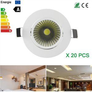 PLAFONNIER Mini Dimmable 3W LED COB Plafonnier Downlight Spot 2186a5992f12