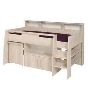 lit enfant combine bureau achat vente pas cher. Black Bedroom Furniture Sets. Home Design Ideas
