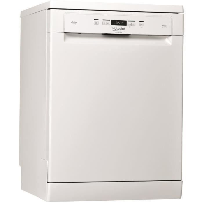 HOTPOINT- HFO3T222WG - lave vaisselle posable - 14 couverts - ultra silencieux 42db - 60 cm - A++