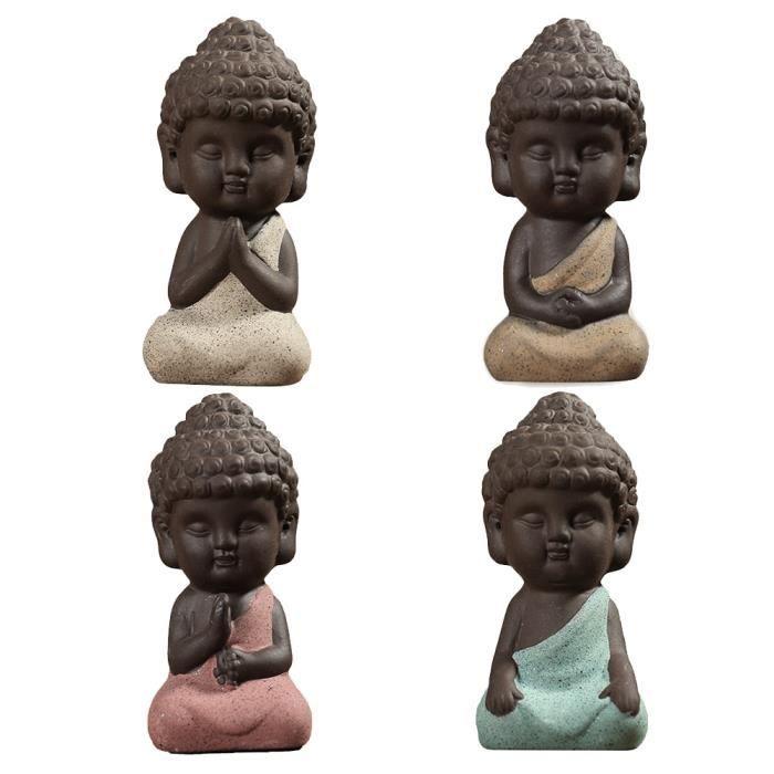 Décors de table Petit Bouddha Statues Sculptures Moine Tathagata I
