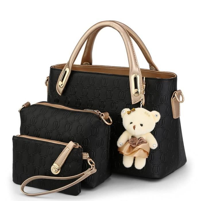 sac à main Designer de haute qualité Femmes Sacs américain 3 Sacs - set-2781