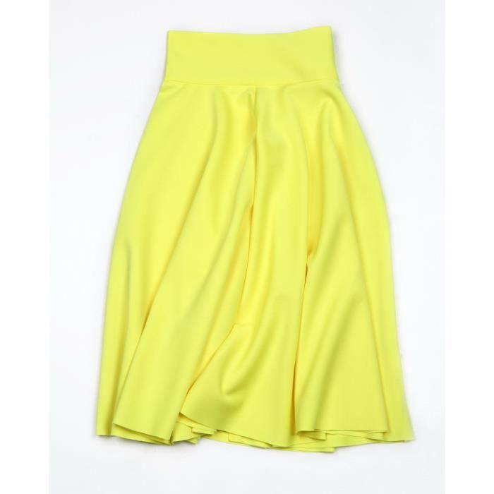 Taille haute Plissée Élégante Jupe Vert Noir Blanc Genou-Longueur Évasée Jupes De Mode Femmes Plus La Taille dames Jupe