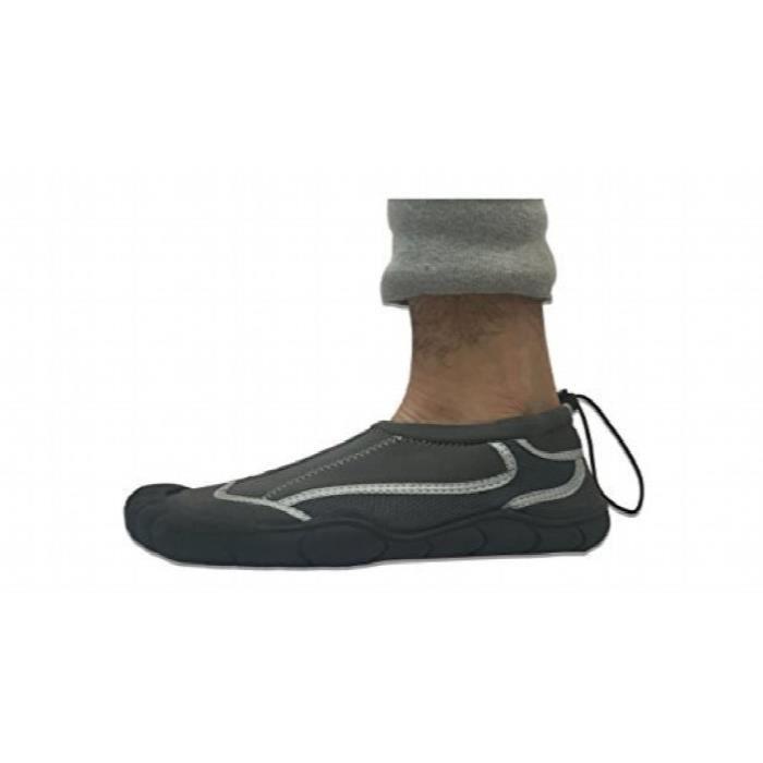 Yoga étanche Chaussures d'eau Exercice des pieds, chaussettes Aqua W25B9 Taille-43