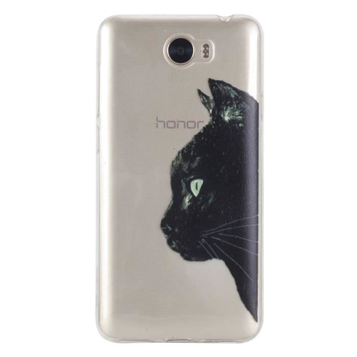 coque huawei y5 ii chat silicone