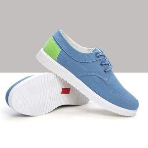 Chaussures En Toile Hommes Basses Quatre Saisons Populaire BSMG-XZ115Gris44 H8RbK5f