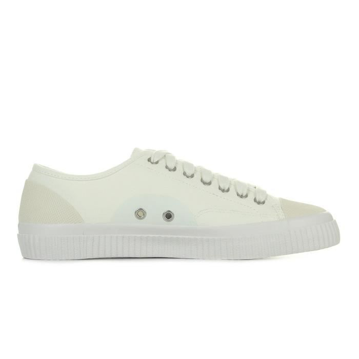Baskets Fred Perry Hugues Canvas Swow White