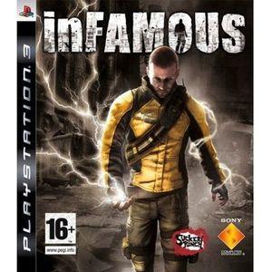 JEU PS3 INFAMOUS / JEU CONSOLE PS3