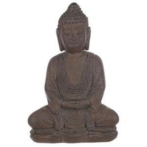 statue bouddha pierre achat vente pas cher. Black Bedroom Furniture Sets. Home Design Ideas