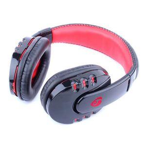 CASQUE - ÉCOUTEURS Stéréo sans fil Bluetooth Gaming Casque écouteur p
