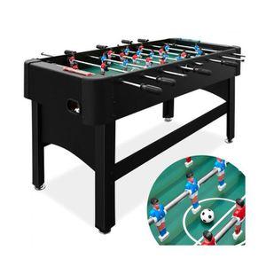 Superbe Baby foot noir 22 kg - table de football babyfoot 2 balles 22  joueurs - d85ee0d46011
