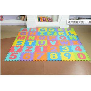 Keke Puzzle Tapis Mousse Bebe 36 Pieces Tapis De Jeu Tres