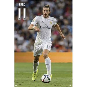 AFFICHE - POSTER Poster Real Madrid 2015/2016 Bale