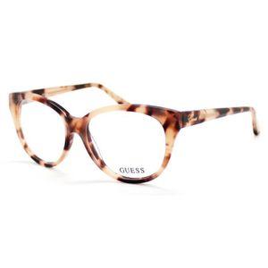 b51c5bafd32 Lunettes de Vue   Monture Optique Cat eye GUESS GU2427 Ecaille rose et  marron