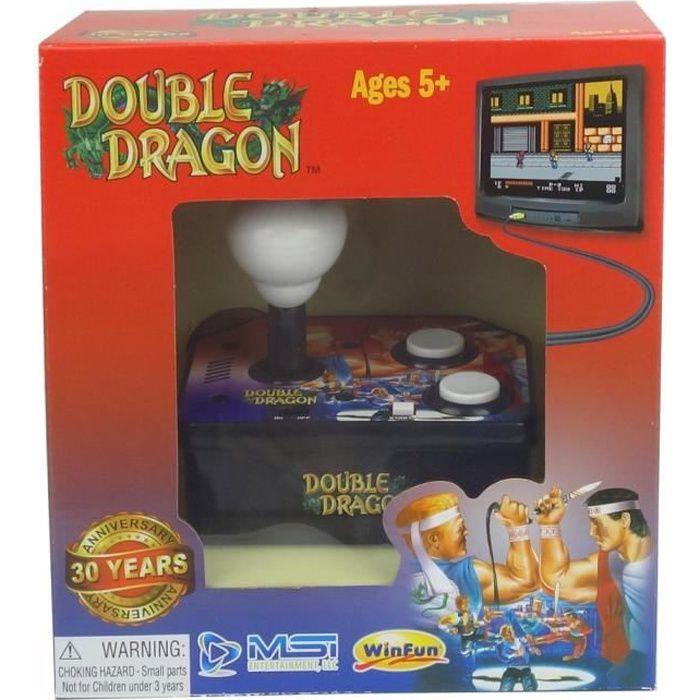 Console avec jeu vidéo intégré Double Dragon TV Arcade Plug & Play