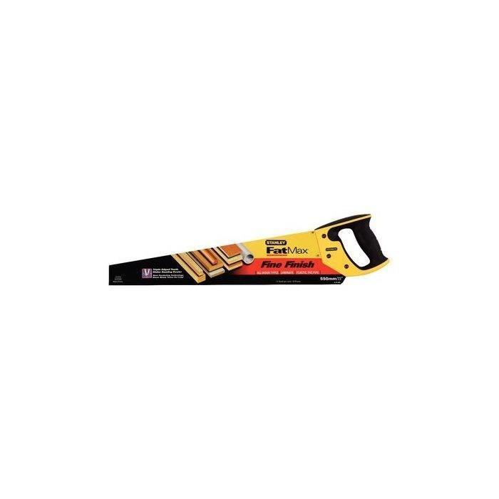 STANLEY Scie égoine Jetcut Fatmax - Coupe fine - 550mm