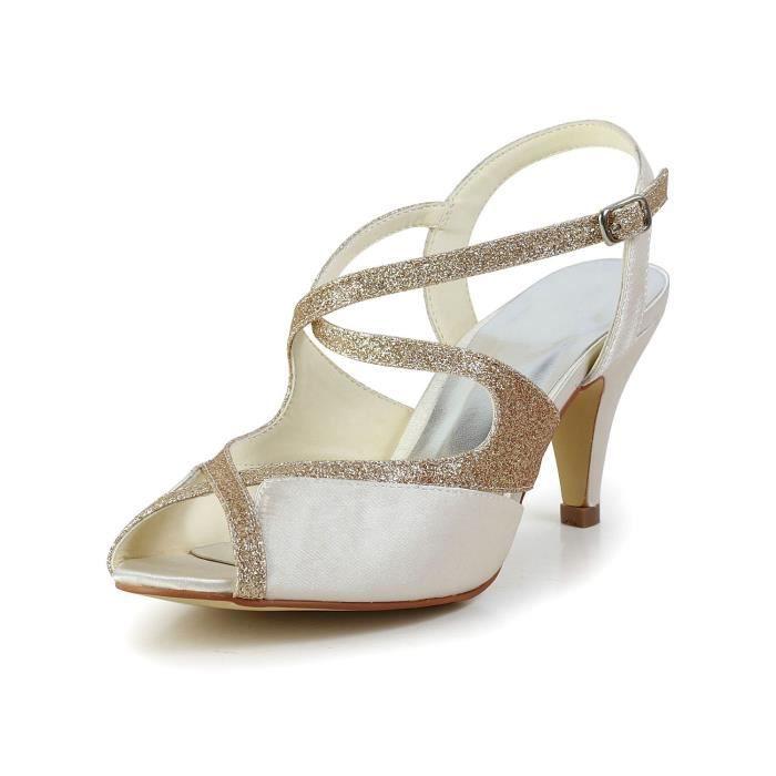 Jia Jia Wedding 594949 chaussures de mariée mariage Escarpins pour femme