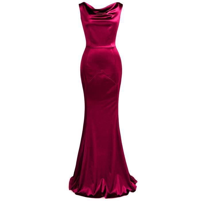 Étage de 1950 féminin Longueur Maxi Dress 2RBR9Z Taille-38