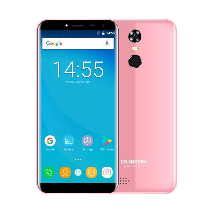 OUKITEL C8 4G Mobile Phone-Rosy Pink