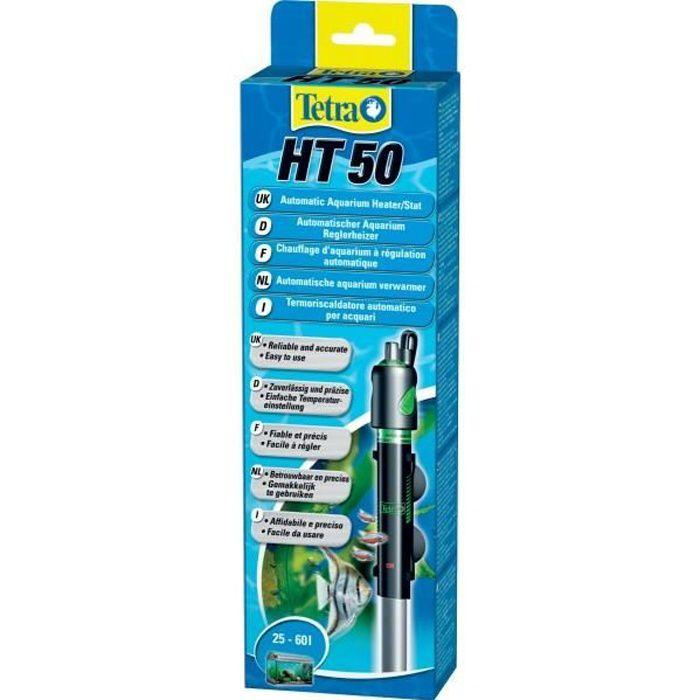 Tetra Chauffage Totalement Submersible - Pour Aquarium Ht50 50 W