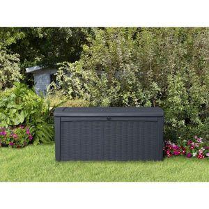 Coffre de jardin en resine de - Achat / Vente Coffre de jardin en ...