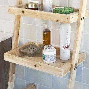 etagere salle de bain avec panier a linge achat vente etagere salle de bain avec panier a. Black Bedroom Furniture Sets. Home Design Ideas