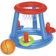 JEUX DE PISCINE BESTWAY Panier de Basket Flottant + ballon + Cerce