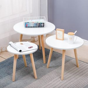 Table Basse Gigogne Blanche.Tables Gigogne Blanches