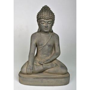 statue bouddha jardin achat vente pas cher. Black Bedroom Furniture Sets. Home Design Ideas