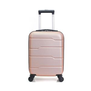 01a3a58a35 VALISE - BAGAGE HERO Valise cabine santiago-e Golden pink ...