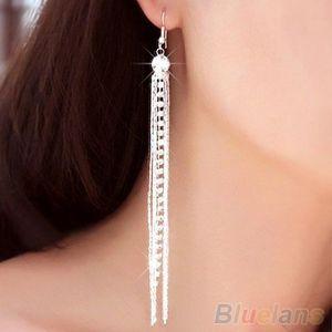 Boucle d'oreille femme longue