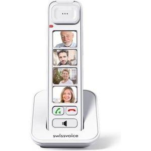 Téléphone fixe Combiné supplémentaire avec touches raccourcis pho