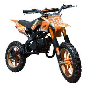 MOTO FREEGUN Pocket cross  Dirt bike - 50 cc - Orange