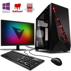 UNITÉ CENTRALE + ÉCRAN VIBOX Ultra Pack 11XW - AMD 4-Core, Radeon R7 Grap