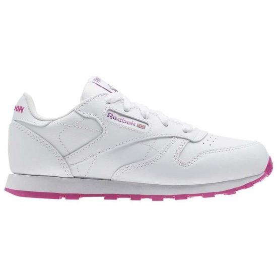 Chaussures enfant Chaussures de tennis Reebok Classics Classic Leather - Prix pas cher