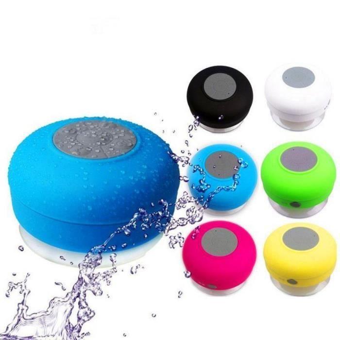 Portable Haut-parleurs Blue Electronique Fashional Sans Fil Bluetooth Mini Haut-parleur Étanche Subwoofervoiture Mains Libres Appel