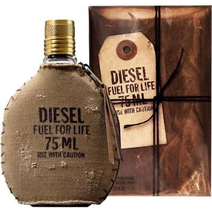Parfum Pour Homme Fuel For Life By Diesel Edt 75ml Neuf Blister