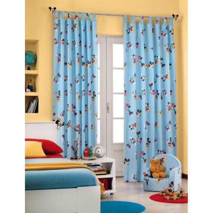Disney mickey mouse rideau pour chambre couche with for Rideau pour chambre enfant