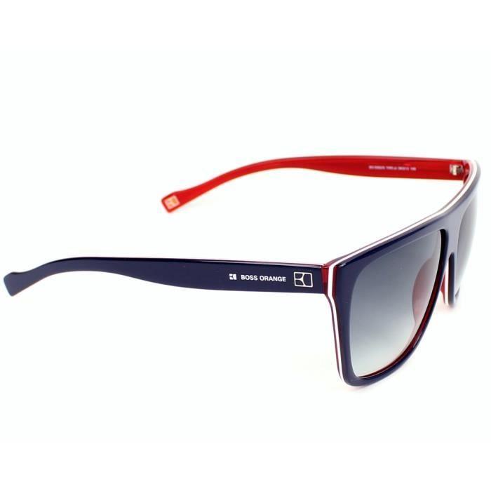 af4980c78b6 Lunettes de soleil Boss Orange BO 0082-S -YW0JJ Bleu - Rouge Orange ...