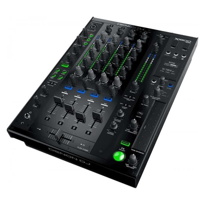 TABLE DE MIXAGE Denon DJ X1800 prime - Table de Mixage numérique