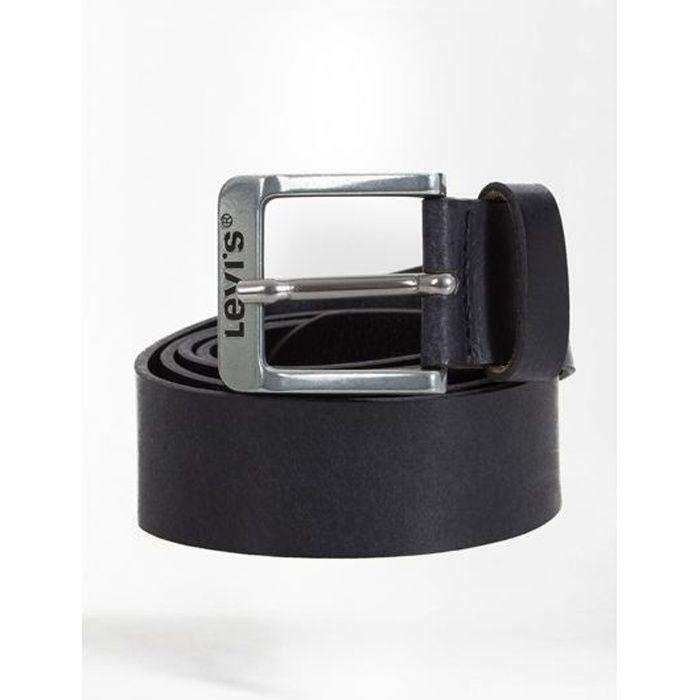 b463e238ff47 Ceinture Levi s Free Regular Black Noir - Achat   Vente ceinture et ...